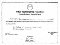 Indian Mountaineering Federation 1998