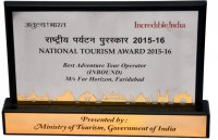 National Tourism Award 2015-16