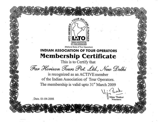 Indian Association of Tour Operators 2009