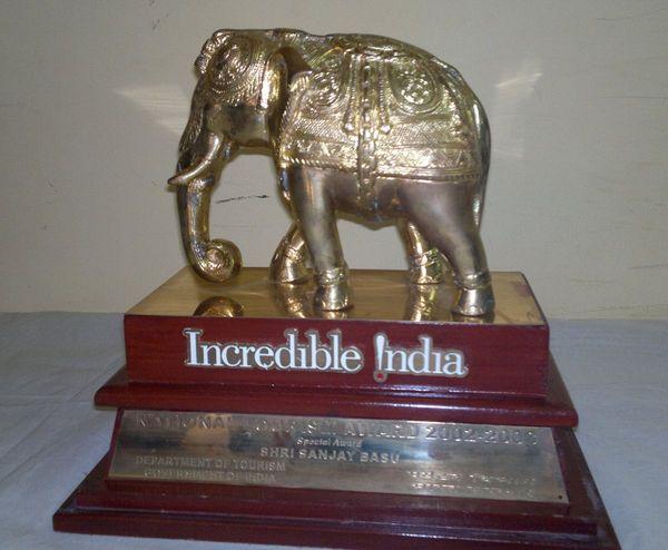 National Tourism Award 2002